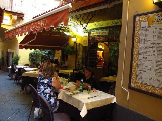 Ristorante Da Gigino: Location location location