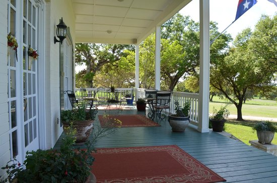 Rose Hill Manor: Porch on main house