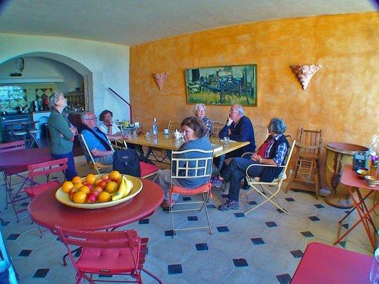 La Bastide des Magnans : La salle à manger