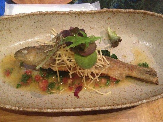 Akarinoyado Villa Revage: Fish for dinner - fresh!