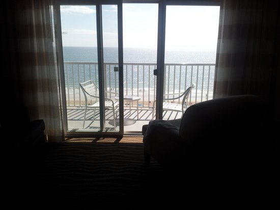 Quality Inn & Suites Beachfront Ocean City: Balcony of 706