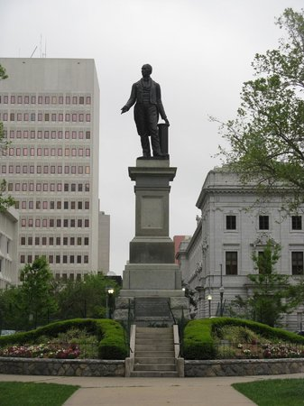 Henry Clay statue at Lafayette Square, New Orleans, LA