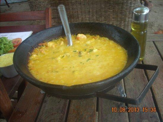 Sambass Cafe Restaurante: Moqueca de camarão