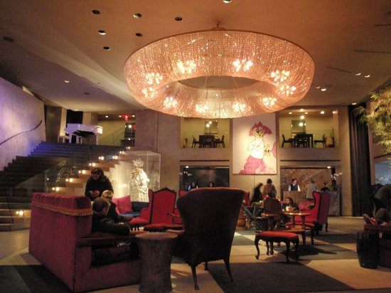 Paramount Hotel Times Square New York: Hall
