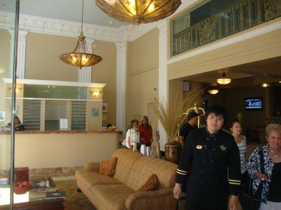 Chancellor Hotel on Union Square: Reception