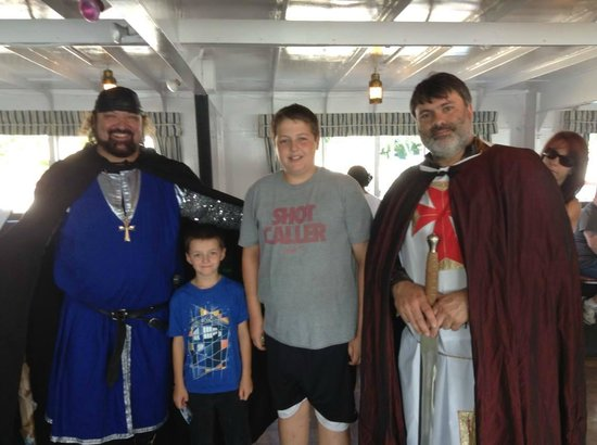 The M/S Mount Washington : The Onboard Entertainment! The boys loved it!