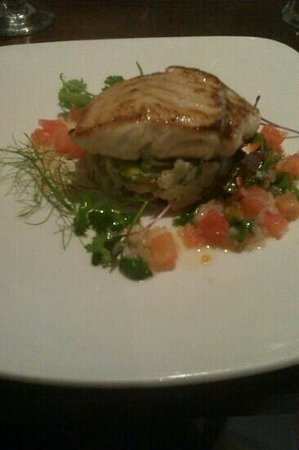 The Old School House: Roast hake with parmesan mash