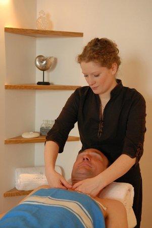 Deauville, França: Salle de massage