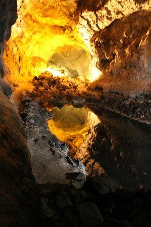 Cueva de los Verdes: interno della cueva