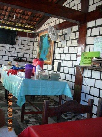 Pousada Kanzua do Marujo: Café da manhã