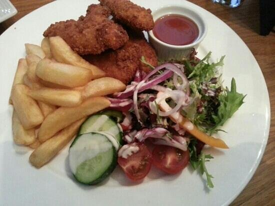 The Quay Inn: chicken goujons