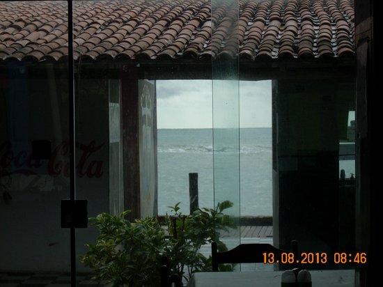 Pousada Kanzua do Marujo: Vista do refeitório