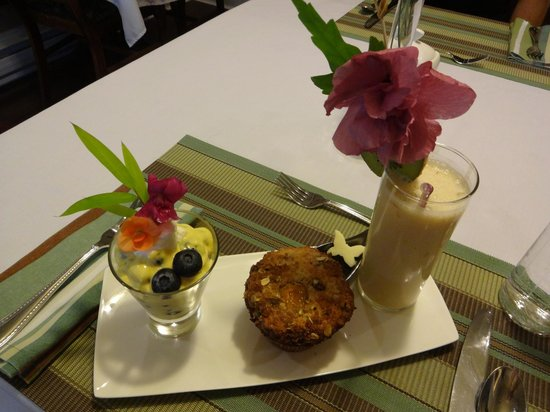 Bee & Thistle Guest House: Scrumptious breakfast