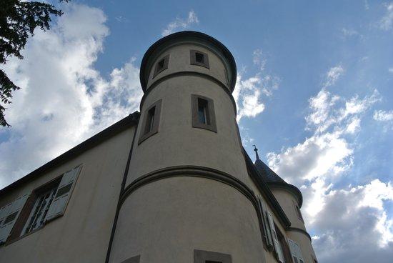 Chateau de Werde : panorama