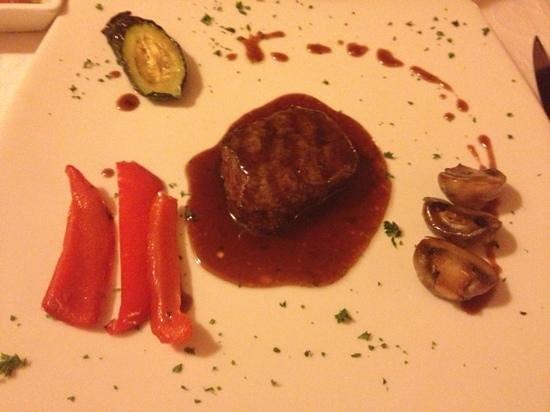 Ristorante La Torre: Rindfleisch mit Kirschesoße