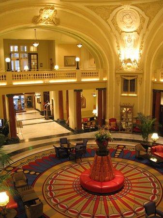 The Battle House Renaissance Mobile Hotel Spa Lobby