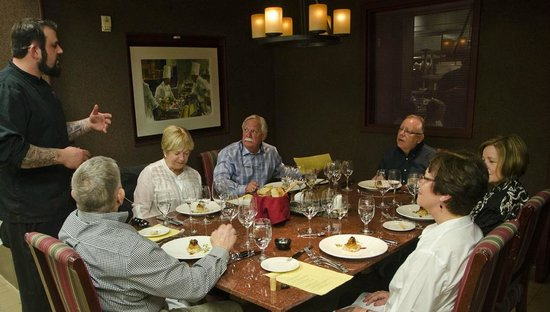 Marc Restaurant : The Chef's Table in the kitchen