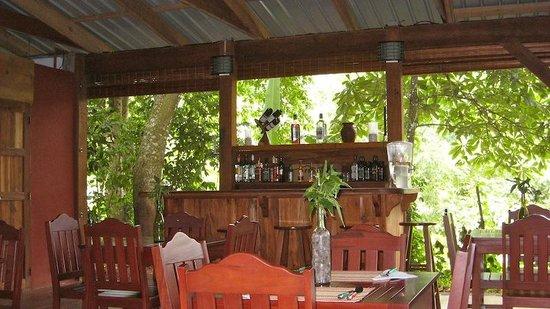 Full Bar at the Grill at Mombacho Lodge