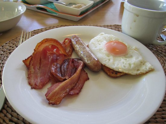 B&B Three One Three: Cooked breakfast