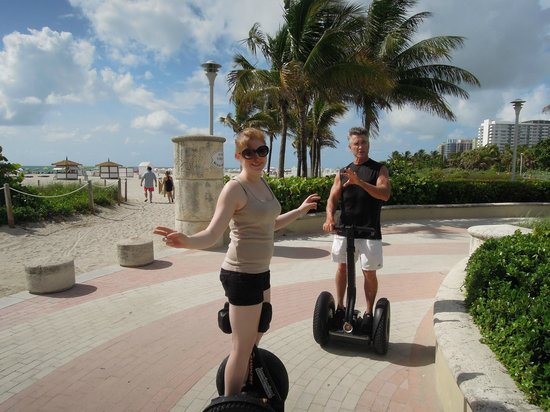 Segway South Beach: On Hands Free