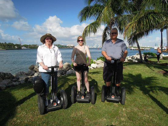 Segway South Beach: Our group