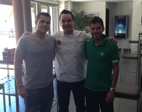 Restaurante Casa Direccion: gran Almuerzo con mi hermano Carlos y el mejor chef en su gran restaurante