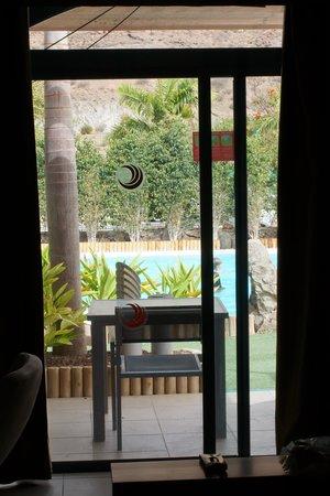 Apartamentos Cordial Mogan Valle: Pool direkt utanför