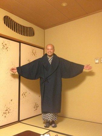 Hoshino Resorts KAI Matsumoto: Tim in full kimono