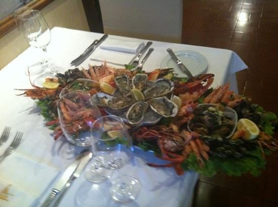 Toscano Restaurante: grande mariscada!!!