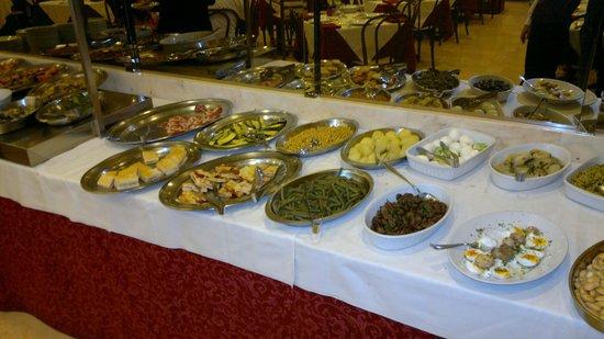 Hotel Miralaghi: antipasti a buffet