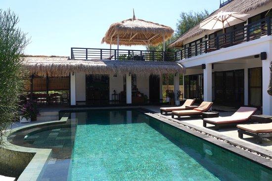 Villa Julius: la piscine & villa