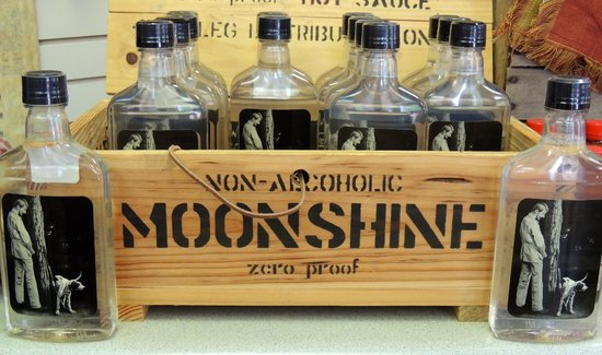 Battles for Chattanooga Electric Map and Museum: Mock moonshine