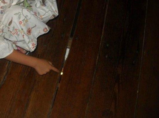 Michie Tavern: floor