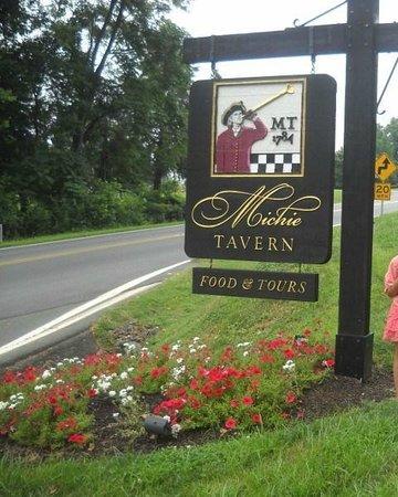 Michie Tavern: sign 2