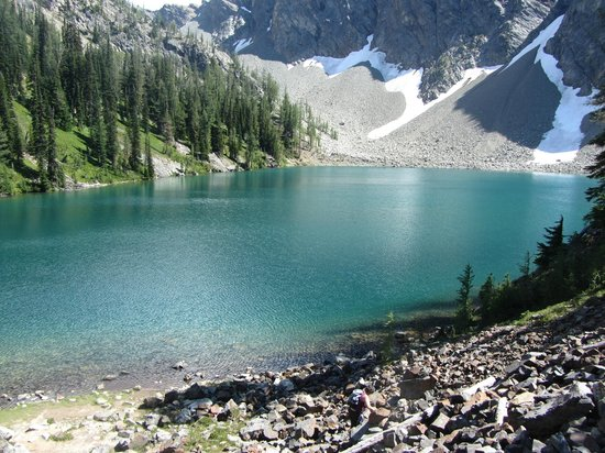 Blue Lake trail : Blue Lake