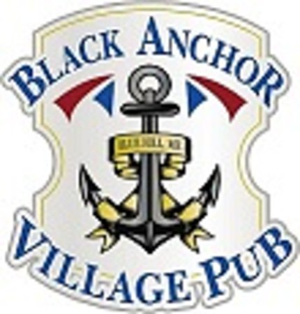 Black Anchor Village Pub: sign