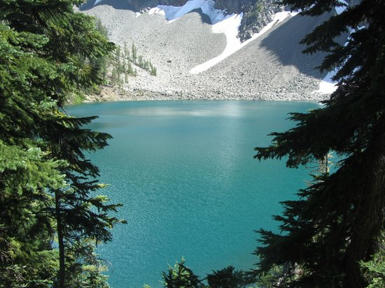 Blue Lake trail: Blue Lake