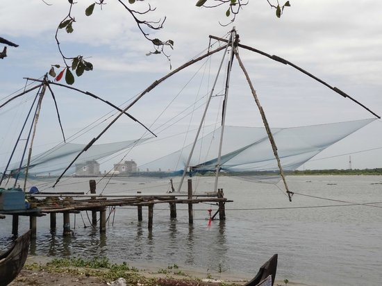 Noah's Ark Homestay: Chinese Fish Nets