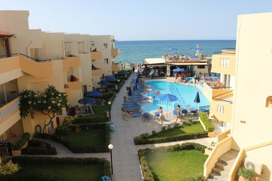 Menia Beach Hotel : View from room