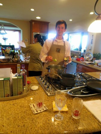 Lajollacooks4u: the chef himself.