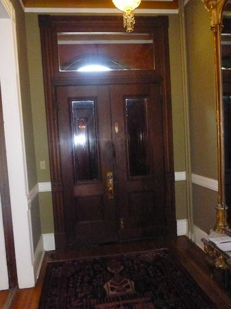 Chester Arthur House B & B at Logan Circle: Front Door