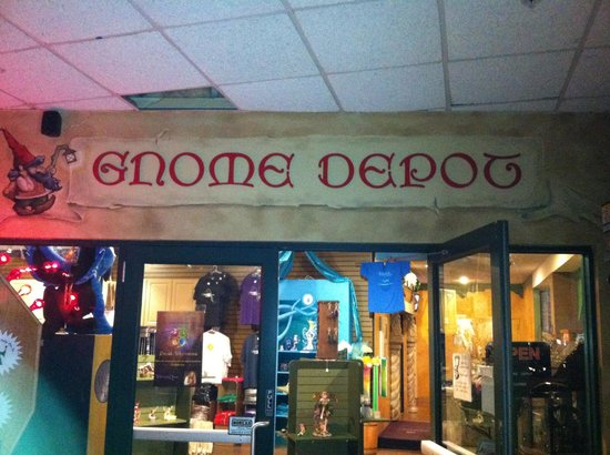 Gnome Depot Gift Shop Picture Of Wizard Quest Wisconsin Dells