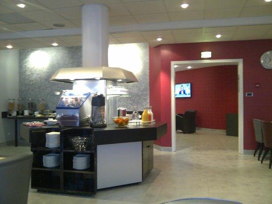 Brit Hotel Belfort Centre - Le Boreal : Breakfast