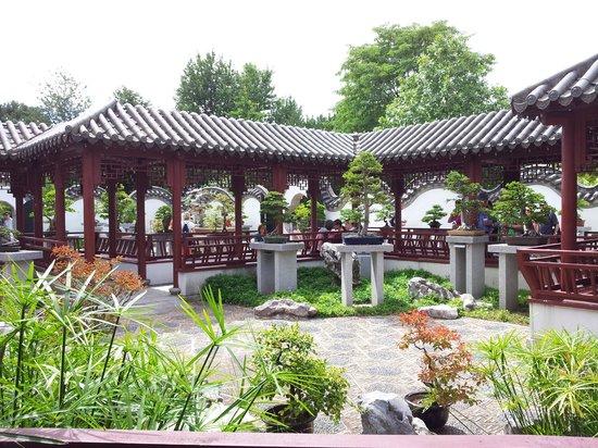 Restaurants Near Montreal Botanical Gardens Waterfall Near Garden Picture Of Montreal