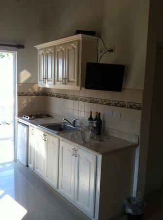 Brisas Doradas B&B : Kitchenette in your room