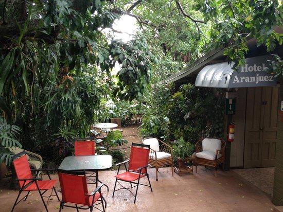 Hotel Aranjuez : Jardín Terraza