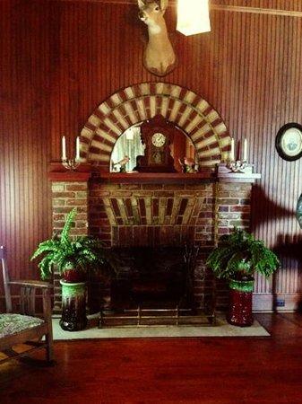 Stranahan House : камин