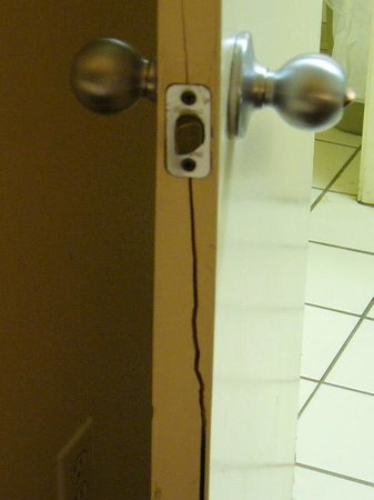 Extended Stay America - Denver - Tech Center - North: door cracked