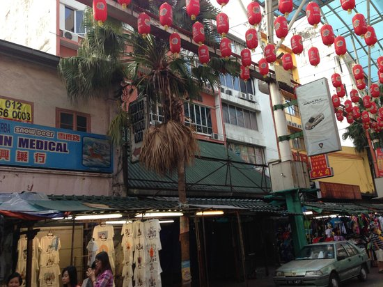Hotel China Town Inn : 外観