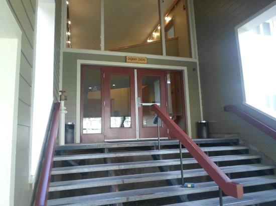 Evergreen Condominiums: Outside the facility